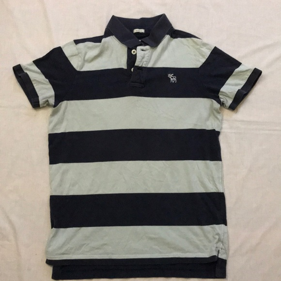 f318095ca Abercrombie & Fitch Shirts | Abercrombie Fitch Muscle Striped Polo ...